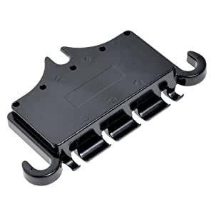 kmise a5032 new black 3 point bass guitar bridge tailpiece fit for epiphone musical. Black Bedroom Furniture Sets. Home Design Ideas