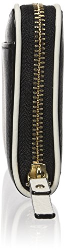 Kate spade new york Cobble Hill Lacey Wallet,Black/Cement,One Size