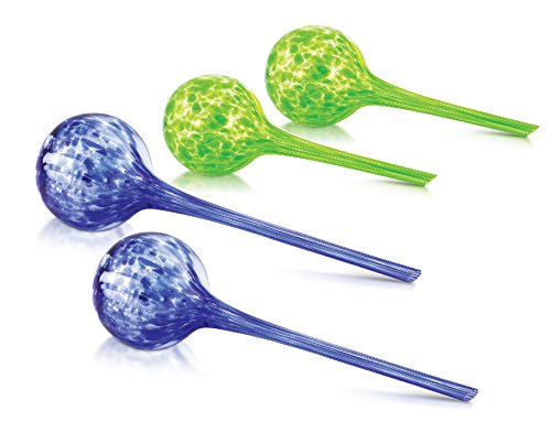 tering Bulbs Set - Includes Two Large & Two Small Watering Globes ()