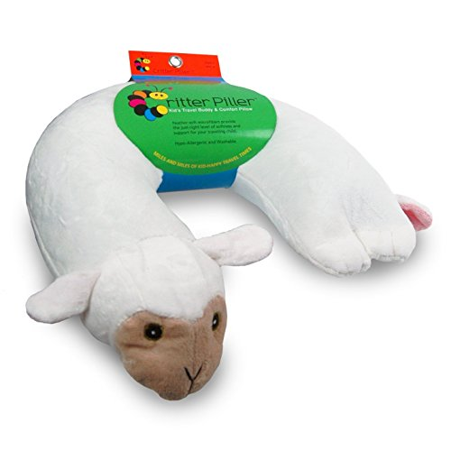 Critter Piller Kids Pillow White product image