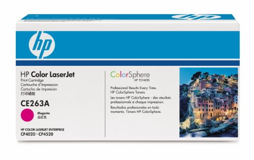 HP LaserJet CE263AC Magenta Print Cartridge Toner by HP