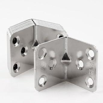 eDealMax estante de la puerta DE 40 mm x 37 mm 90 Grado 6 orificios de