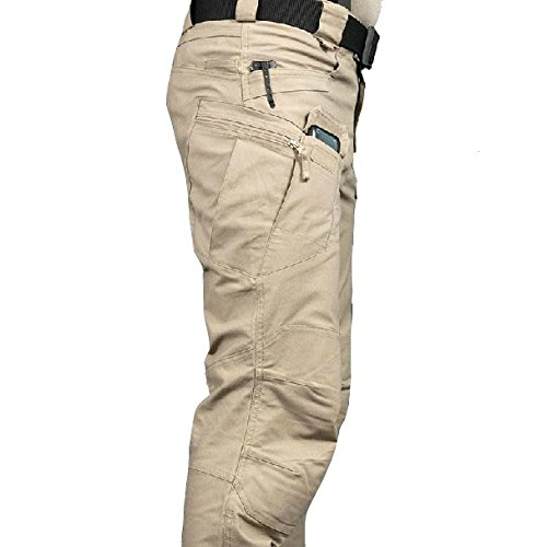 MountainYard Tactical Hunting Cargo Pants - Army Security Military Combat Hiking Trousers - Durable and Stretchable