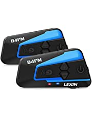 LEXIN Motorrad Bluetooth Headset B4FM