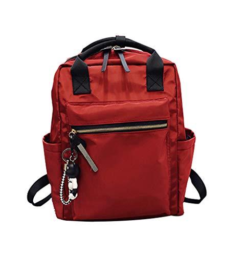 Rouge au Femme Gris Main Gris Dos porté pour à HCXIN Sac cTWP4gC4v
