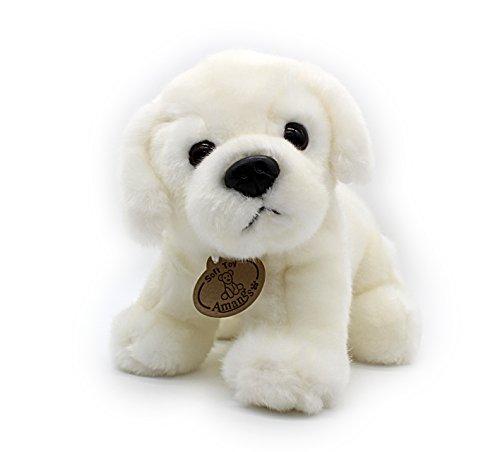 White Labrador Retriever Plush Puppies Stuffed Animals Dogs Plush Toy 10