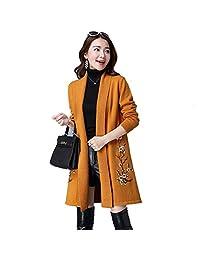 Autumn Winter Women's Wool Sweater, Multi-color, Multi-size