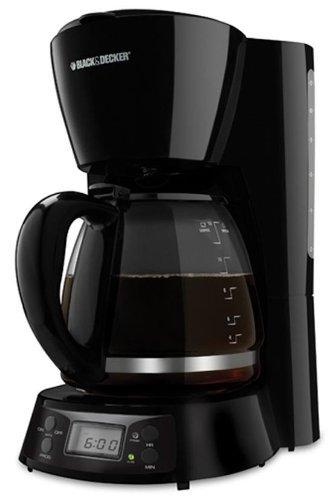 Black & Decker BCM1411B 12-Cup Coffee Maker, 220-volt