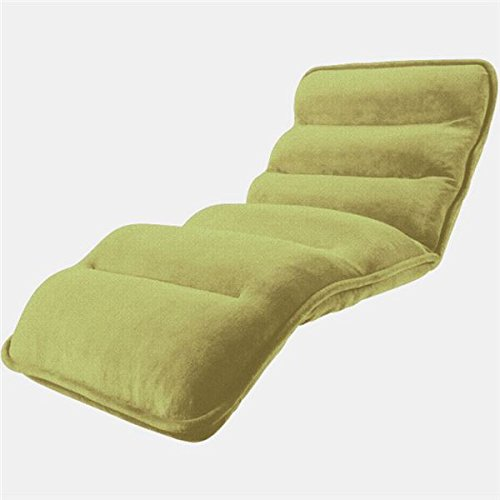 収納簡単低反発もこもこ座椅子 ワイドタイプ グリーン 生活用品 インテリア 雑貨 インテリア 家具 座椅子 top1-ds-1938043-ah [簡素パッケージ品] B075NFBY3D