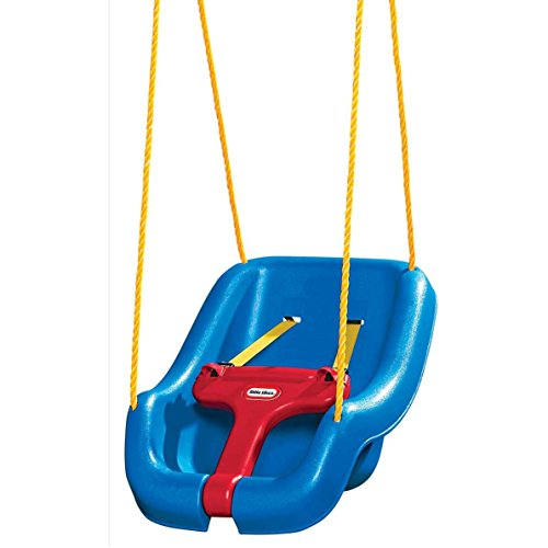 Outdoor Baby Swing >> Little Tikes 2 In 1 Snug N Secure Grow With Me Swing Blue