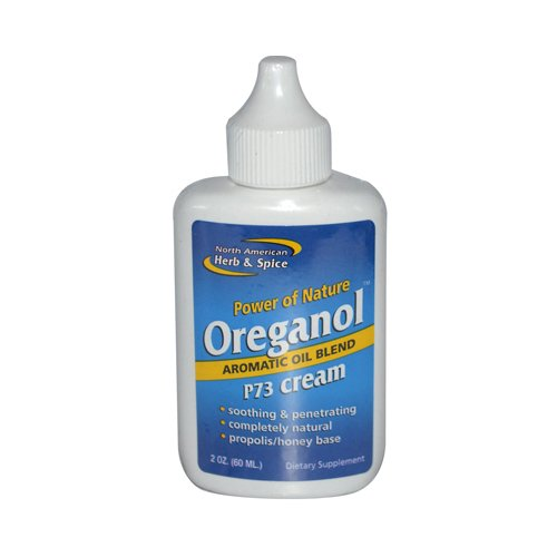 Oreganol Cream - New - North American Herb and Spice Oreganol Oil of Oregano Cream - 2 oz