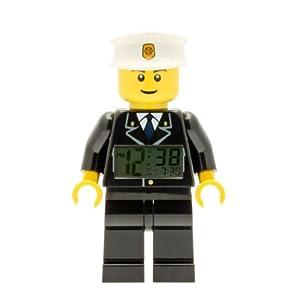 LEGO Despertador con luz Infantil con figurita de policía City 9002274 2