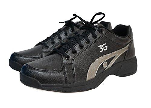 900 Wereldwijde Sneaks Bowlingschoenen Zwart / Grijs
