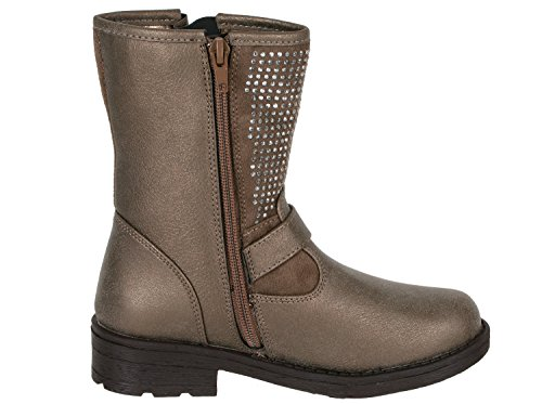 You.S, Bottes pour Fille - beige - Taupe, 32