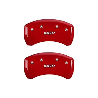 MGP Caliper Covers BMW Caliper Covers 22226Smgprd: Red, Mgp, 4 Pack: Automotive