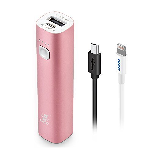 3400mAH Mini Power Bank Lipstick Sized