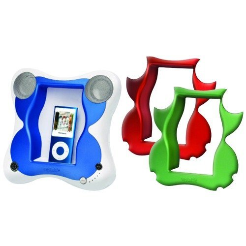 Vestalife Butterfly Speaker Dock for iPod - Green Ipod Dock