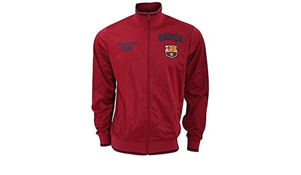 FCB FC Barcelona - Chaqueta - para Hombre Rojo Scharlachrot ...