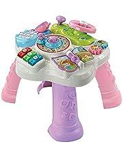VTech Baby Activiteitenset, tweelaags, roze, tafels en grote middenstukken Eveil 1e leeftijd, 80-181585, meerkleurig