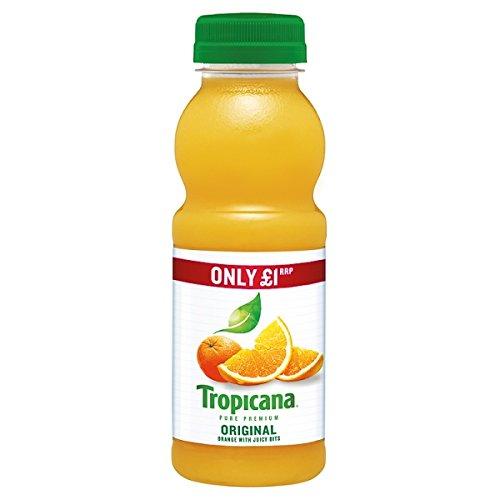Tropicana Zumo de naranja original PMP 250 ml (Pack de 8 x 250ml)