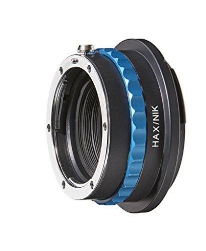 Rack Novoflex Focusing (Novoflex HAX/NIK Adapter Nikon-Lenses to Hasselblad X-Mount (X1D) with Aperture Control, Black)