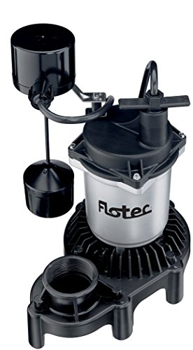 Flotec FPZS33V 1/3 HP Sump Pump High-Output Performance - Flotec Submersible Sump Pump