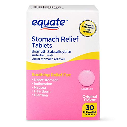 Equate - Stomach Relief,  Pink Bismuth