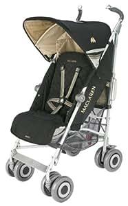 Maclaren Techno XLR Stroller, Black/Champagne (Discontinued by Manufacturer) (Discontinued by Manufacturer)