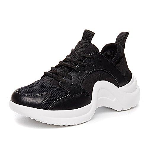 NGRDX&G Malla De Los Deportes De Los Zapatos De Las Mujeres Ocasionales Zapatos Corrientes Femeninos De Malla Transpirable Zapatos De Mujer Zapatos Black