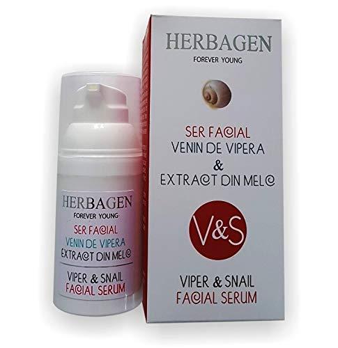 Herbagen Suero alisa la piel facial - Venino de vipadre y ...