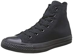 When you do your next reverse lay-up make sure you're rocking the Converse Men's Chuck Taylor All Star Hi Shoes. Pickup games will take on a throwback style that only short-shorts and knee-high socks could equally invoke. Now you just need to...