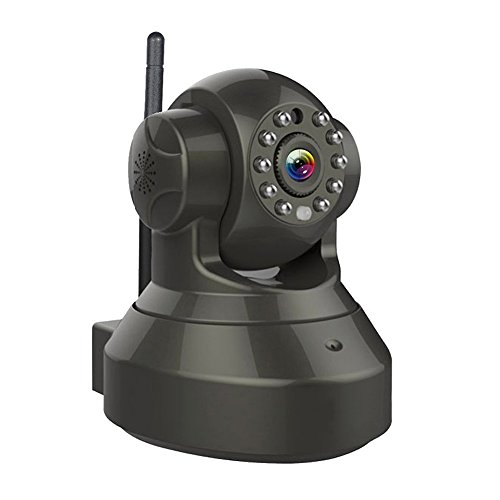 Wireless Camera, Home Security Camera, Security Surveillance System with Night Vision for Indoor Security/Nursery/Pet Monitor, Remote Control with iOS, Android App 720p HD IP Camera Night Vision Remot