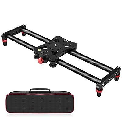 Zecti 40cm Camera Slider Carbon Fiber