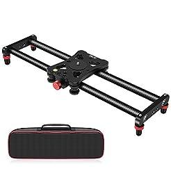 Zecti Camera Slider, Adjustable Carbon F...