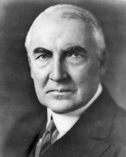(New 8x10 Photo: Warren G. Harding, 29th President of the US)
