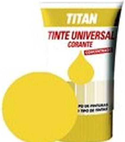 Titan - Tinte universal amarillo titan 250 ml: Amazon.es: Belleza