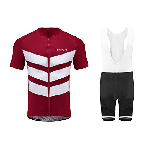 Uglyfrog 2018 Automne-Hiver Homme Thermique Maillot Manches Courte Costumes Vélos VTT Homme Cycle Bike shirt vélos Top Maillot de cyclisme & Cuissards Combinaison de maillots DSRET17
