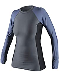 Women's Basic Skins Upf 50+ Long Sleeve Rash Guard