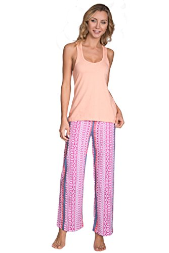 Cozy Loungewear Womens Printed Pajama