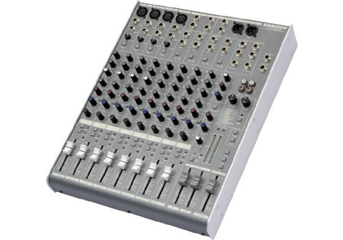 Rack Channel Eq Module - Samson MDR1248 12-Channel, 4-Bus Mixer with DSP