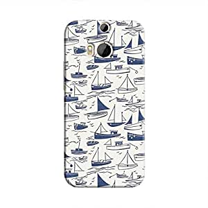 Cover It Up - Harbour Print One M9 PlusHard Case