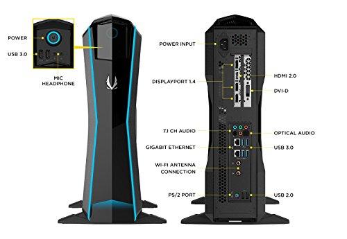 ZOTAC GAMING MEK1 GAMING PC GeForce GTX 1070 Ti Intel Core i7 16GB
