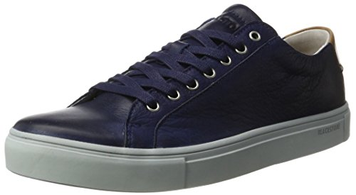 Blackstone Herren Nm01 Low-Top Blau (Ink Navy)