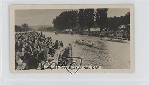 Regatta Henley (Henley Regatta, Final Day (Trading Card) 1932 Wills Homeland Events - Tobacco [Base] - set of 54 #15)