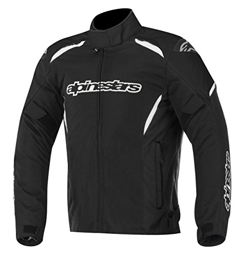 Alpinestars Gunner Waterproof Jacket, Gender: Mens/Unisex, Primary Color: Black, Size: Md, Apparel Material: Textile, Distinct Name: Black 3206815-10-M