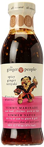 Ginger People Spicy Ginger Teriyaki Sauce, 12.7 oz by The Ginger People