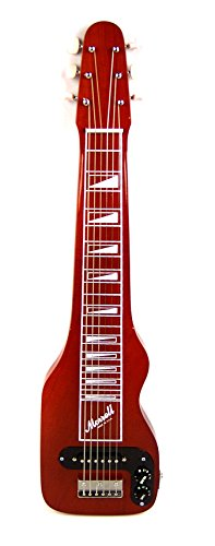 Joe Morrell Plus Series Poplar Body 6-String Lap Steel Guitar - Transparent Red Finish ()