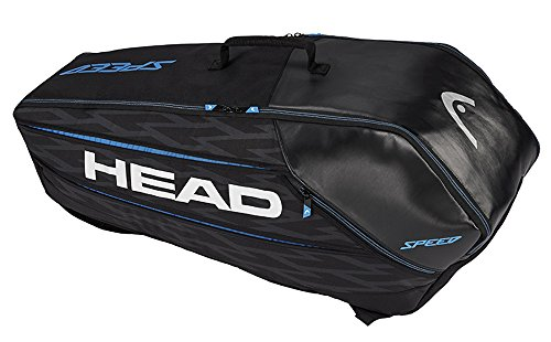 HEAD Speed 6 Racquet Combi Bag - Black by HEAD