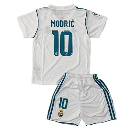 beb8846a0 ... best price wjacking real madrid 10 luka modric home kids youth soccer  jersey shorts set 2017