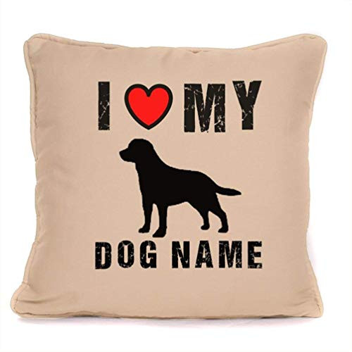 Personalized Dog Gift Pillow Case - Labrador Retriever for sale  Delivered anywhere in USA
